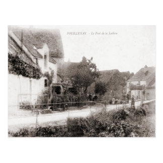 France Poullinay, cerimónia na ponte Cartao Postal