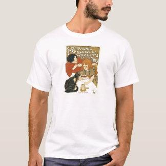 Francês da propaganda do vintage de Compagnie Camiseta