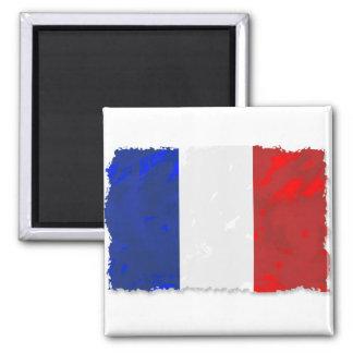 Francês Ímã Quadrado