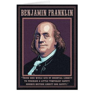 Franklin - liberdade cartão