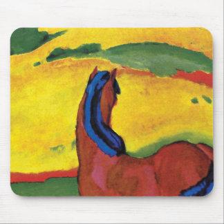Franz Marc - cavalo em uma paisagem Mouse Pad