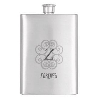 Frasco De Bebida Modelo para sempre personalizado Z-Monogrammed