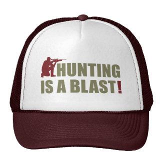 Frase do divertimento para todos os caçadores: A Boné