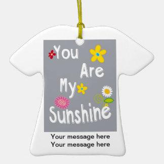 Frase inspirador da tipografia - cinza ornamento de cerâmica camiseta