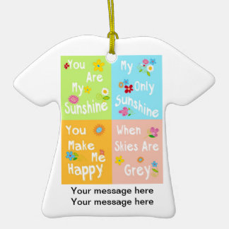 Frase inspirador da tipografia - colagem ornamento de cerâmica camiseta
