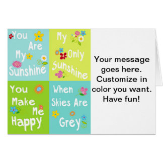 Frases inspiradores da tipografia - colagem cartão comemorativo