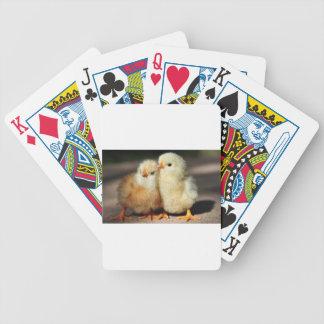 Fraternidade do pintinho baralho de cartas