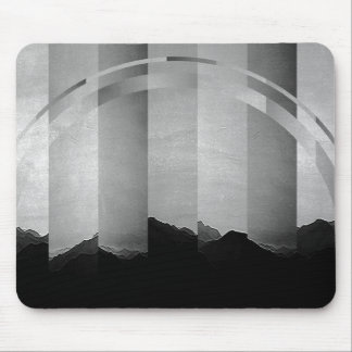 Fratura da paisagem mouse pad