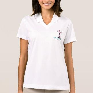 *Free seu Spirit* T com logotipo feliz de etapa 3 T-shirt Polo
