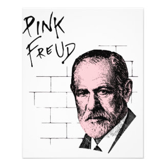 Freud cor-de-rosa Sigmund Freud Panfletos