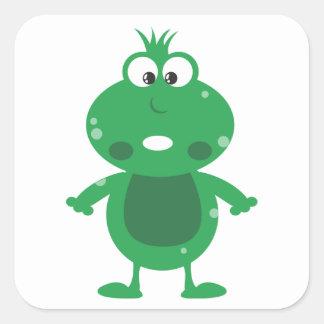 frog adesivo quadrado
