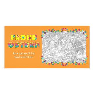 Frohe Ostern Cartões Com Foto