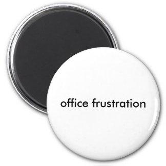 frustração do escritório ímã redondo 5.08cm