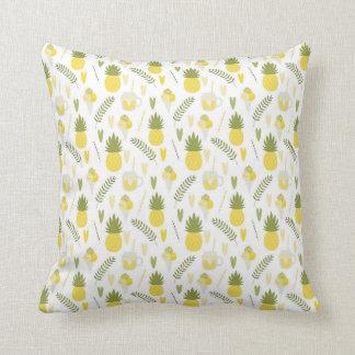 fruta do abacaxi e travesseiro decorativo dos almofada