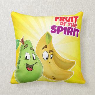 Fruta do travesseiro dos desenhos animados do almofada