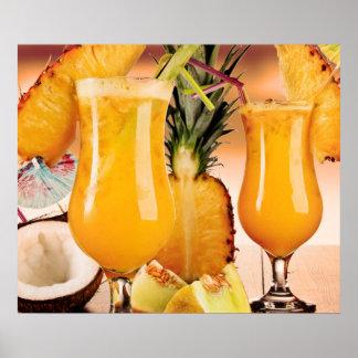 Fruta tropical pôster