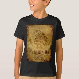 FTL - O retrato da lápide caçoa a obscuridade T-shirts
