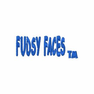 """""""Fudsy enfrenta"""", pólo bordado Camiseta Bordada Polo"""