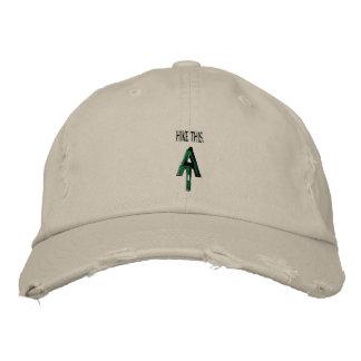 """Fuga apalaches """"caminhada este"""" chapéu boné bordado"""