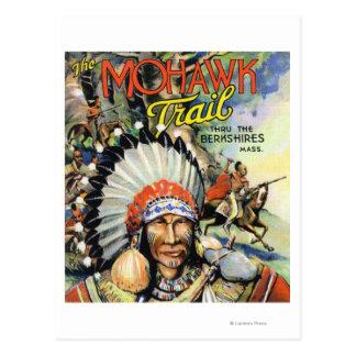 Fuga do Mohawk, opinião indianos do Mohawk Cartão Postal
