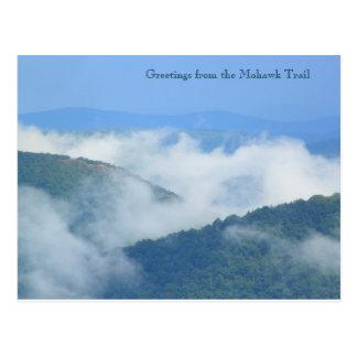 Fuga nevoenta Berkshires do Mohawk do rio de Cartão Postal