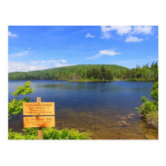 Fugas longas do Appalachian da lagoa de Stratton Cartão Postal