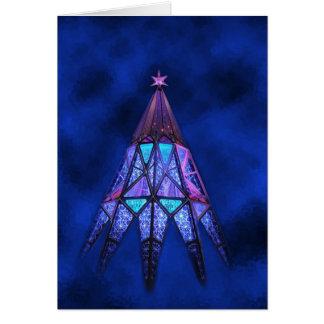 Fulgor da felicidade de maio no Natal Cartão Comemorativo