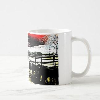 Fulgor do vaqueiro caneca de café