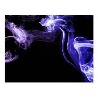 Fumo de fluxo cartão postal