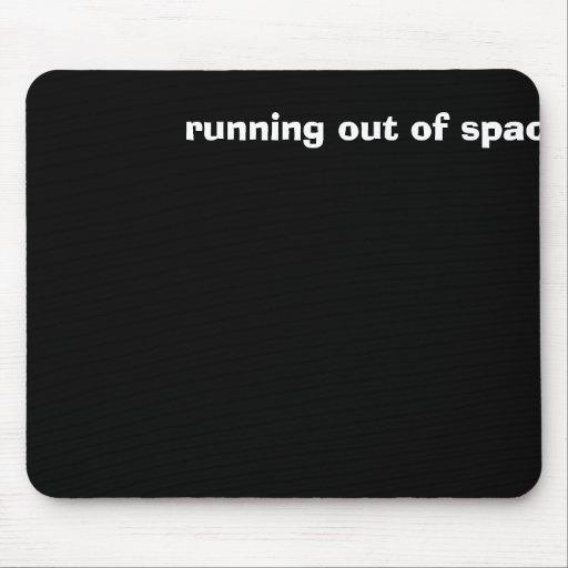 funcionamento fora do espaço mousepad