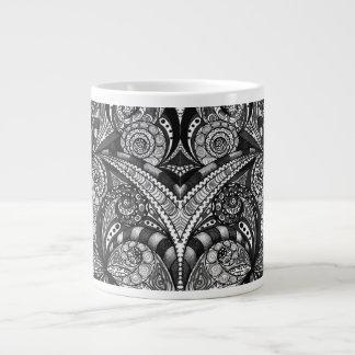 Fundo abstrato floral da caneca jumbo mug