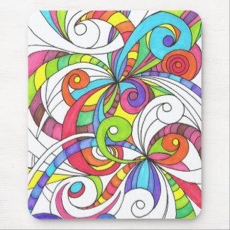 Fundo abstrato floral de Mousepad