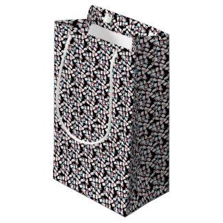fundo abstrato sacola para presentes pequena