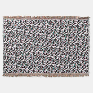 fundo abstrato throw blanket