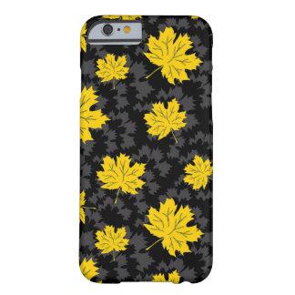 Fundo bonito do outono capa barely there para iPhone 6