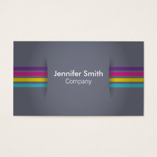Fundo cinzento com o projector colorido das cartão de visita
