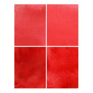 fundo colorido da aguarela para seus 7 cartão postal