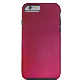 Fundo cor-de-rosa capa tough para iPhone 6