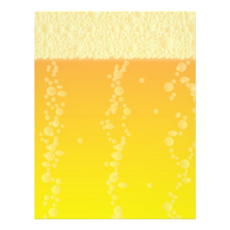 Fundo da cerveja flyer 21.59 x 27.94cm