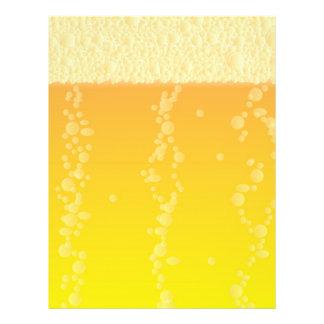 Fundo da cerveja panfletos coloridos
