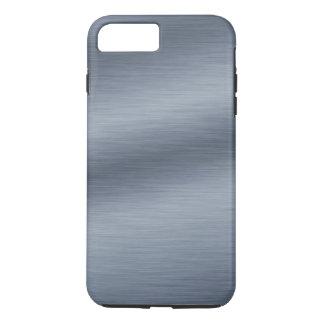 Fundo de aço escovado do olhar capa iPhone 8 plus/7 plus
