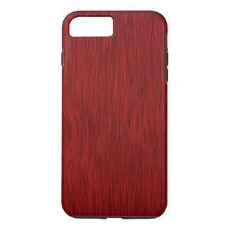 Fundo de madeira áspero da grão - vermelho capa iPhone 8 plus/7 plus