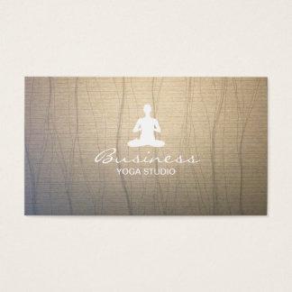 Fundo elegante do zen da ioga & da meditação cartão de visita