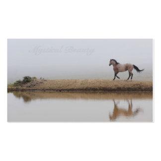 Fundo feito sob encomenda da imagem do cavalo para modelos cartões de visita