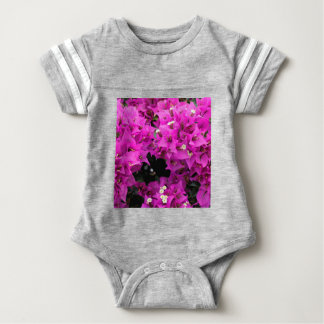 Fundo fúcsia roxo do Bougainvillea Camiseta