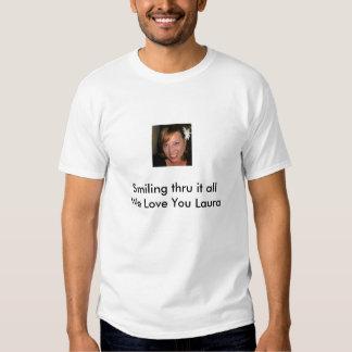 Fundraiser de Laura Sherman, t-shirt