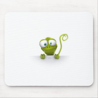 funny-3d-gekko mouse pad