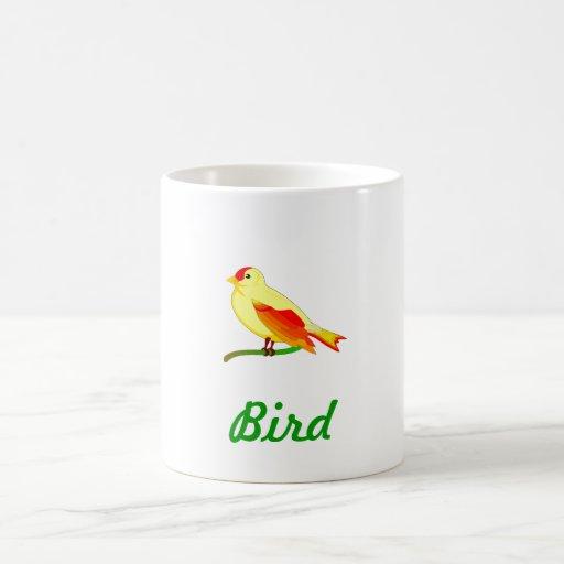 Funny bird caneca