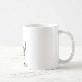 funny cat caneca de café