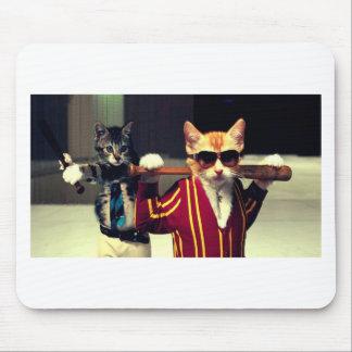 Funny cat mousepad